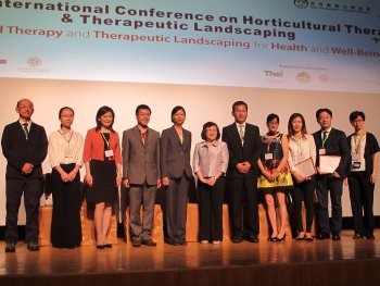 2014-6-27~28 The 1st International Conference on Horticultural Therapy and Therapeutic Landscaping - HT & TL for Health and Well-Being